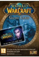 World of Warcraft EU 30 Day Pre-Paid Card / 30 dni - karta PC